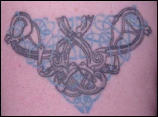 Celtic Knot Tattoo Close-up