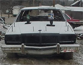 1984 Chevy Caprice Estate - Front - Way Before