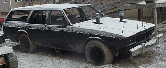 1984 Chevy Caprice Estate - Passenger - Way Before
