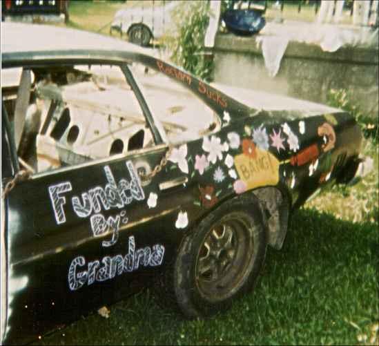 1975 Chevy Malibu - Driver - Rear