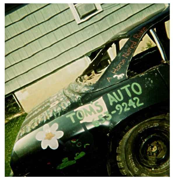 1975 Chevy Malibu - Passenger - Rear
