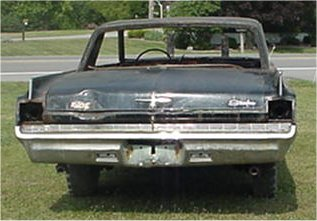 1963 Oldsmobile Starfire - Rear - Way Before
