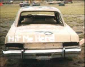 1971 Plymouth Valiant - Rear - Before