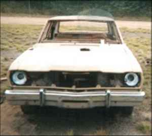 1971 Plymouth Valiant - Front - Before